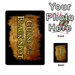 2011 Curse Of The Black Spot By Steve Sisk   Playing Cards 54 Designs   Z5c543i0gjcp   Www Artscow Com Back