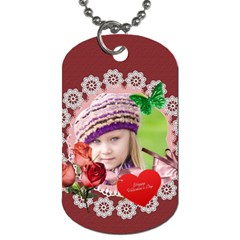 Love  By Joely   Dog Tag (two Sides)   Jortp8v29qnt   Www Artscow Com Back