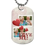 love  - Dog Tag (Two Sides)