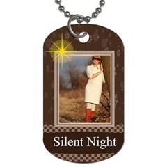 Christmas By May   Dog Tag (two Sides)   358r9fsohsya   Www Artscow Com Back