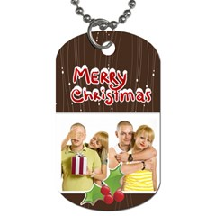 Christmas By May   Dog Tag (two Sides)   5s0287hb5fc0   Www Artscow Com Back