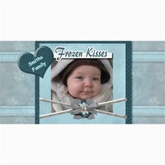 Frozen Kisses Photo Greeting Card by Amarie 8 x4 Photo Card - 9