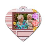 flower of love story - Dog Tag Heart (Two Sides)