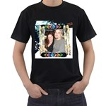 winter sport Black T-shirt
