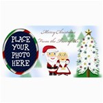 Mr&Mrs Claus Christmas Card - 4  x 8  Photo Cards