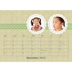 Floral Cathy Desktop Calendar  By Purplekiss   Desktop Calendar 8 5  X 6    Puv33xwo3ecq   Www Artscow Com Nov 2015