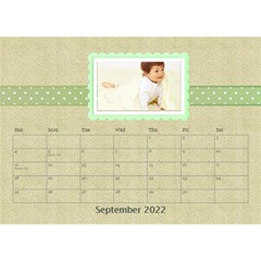 Floral Cathy Desktop Calendar  by purplekiss Sep 2012