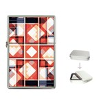 Abstract squares Flip Top Lighter
