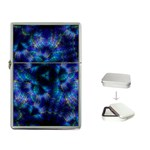 Fractal Blue Dreams Flip Top Lighter