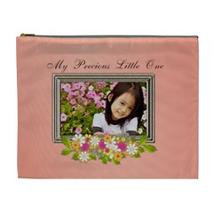 Cosmetic Bag   Happy Family By Angel   Cosmetic Bag (xl)   B6fvojvdnbdb   Www Artscow Com Front
