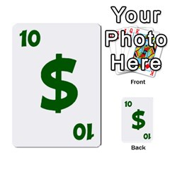 Power Grid Money Cards By Doug Bass   Multi Purpose Cards (rectangle)   Qnbyruwoiscd   Www Artscow Com Front 54