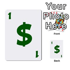 Power Grid Money Cards By Doug Bass   Multi Purpose Cards (rectangle)   Qnbyruwoiscd   Www Artscow Com Front 2