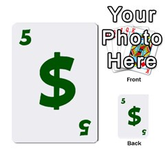 Power Grid Money Cards By Doug Bass   Multi Purpose Cards (rectangle)   Qnbyruwoiscd   Www Artscow Com Front 25
