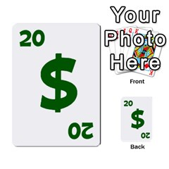 Power Grid Money Cards By Doug Bass   Multi Purpose Cards (rectangle)   Qnbyruwoiscd   Www Artscow Com Front 35