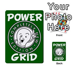 Power Grid Money Cards By Doug Bass   Multi Purpose Cards (rectangle)   Qnbyruwoiscd   Www Artscow Com Back 50
