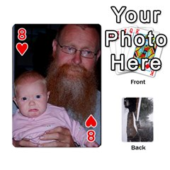 Cards By Jon   Playing Cards 54 Designs   Rfte1bhamxva   Www Artscow Com Front - Heart8