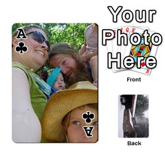 Ace Cards By Jon   Playing Cards 54 Designs   Rfte1bhamxva   Www Artscow Com Front - ClubA