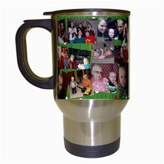 Xmas Mug Mom By Denise Herness   Travel Mug (white)   98odhosepmjr   Www Artscow Com Left