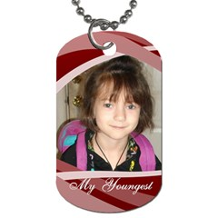 My Children Dog Tag By Jolene   Dog Tag (two Sides)   05694uum1vfl   Www Artscow Com Front