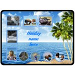 Seaside (XL) fleece - Fleece Blanket (Extra Large)
