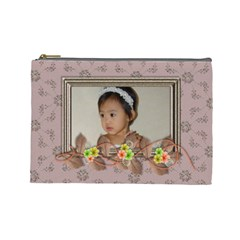 Cosmetic Bag   Family By Angel   Cosmetic Bag (large)   Fy8oxv1etfpk   Www Artscow Com Front