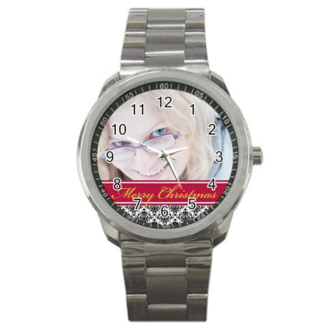Christmas By May   Sport Metal Watch   Xr33mqf9a9w5   Www Artscow Com Front