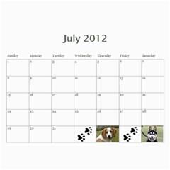 Jenni s Calendar 2012 By Jenni Borg   Wall Calendar 11  X 8 5  (12 Months)   Blsscsp18hdn   Www Artscow Com Jul 2012