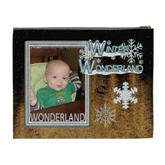 Winter Memories Xl Cosmetic Bag By Lil    Cosmetic Bag (xl)   410w8api631n   Www Artscow Com Back