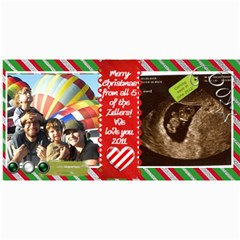 2011 Christmas Card By Aliciazeller   4  X 8  Photo Cards   Zx9kqoo2ftjv   Www Artscow Com 8 x4 Photo Card - 4