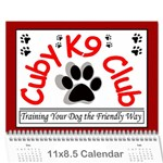 Jenni s Calendar 2012 2nd option - Wall Calendar 11  x 8.5  (12-Months)