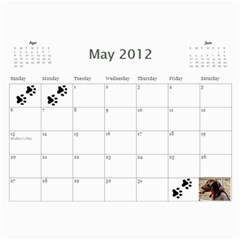 Jenni s Calendar 2012 2nd Option By Jenni Borg   Wall Calendar 11  X 8 5  (12 Months)   Axd5bkehhu3p   Www Artscow Com May 2012