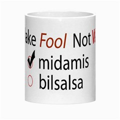 Make Fool Not War Mug By Hanaan   Morph Mug   Tjm78c553esq   Www Artscow Com Center