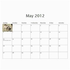 Amanda Calandar 2012 By Amanda   Wall Calendar 11  X 8 5  (12 Months)   6erijyzf1ys9   Www Artscow Com May 2012
