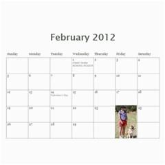 Amanda Calandar 2012 By Amanda   Wall Calendar 11  X 8 5  (12 Months)   6erijyzf1ys9   Www Artscow Com Feb 2012