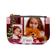 Christmas By Joely   Mini Coin Purse   50h89zh1lyw9   Www Artscow Com Front