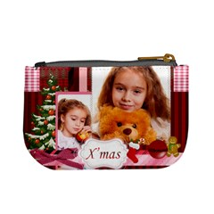 Christmas By Joely   Mini Coin Purse   50h89zh1lyw9   Www Artscow Com Back