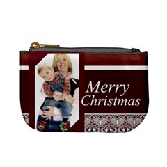 Christmas By Joely   Mini Coin Purse   Wtc2yj222x21   Www Artscow Com Front