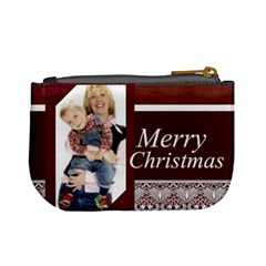 Christmas By Joely   Mini Coin Purse   Wtc2yj222x21   Www Artscow Com Back