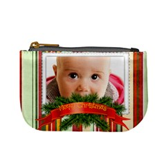 Christmas By Joely   Mini Coin Purse   Az7xyhnz6fe3   Www Artscow Com Front