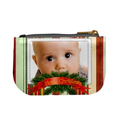 Christmas By Joely   Mini Coin Purse   Az7xyhnz6fe3   Www Artscow Com Back