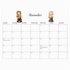Parents Calendar By Nicole Prom   Wall Calendar 11  X 8 5  (12 Months)   K44plhxb386r   Www Artscow Com Nov 2012