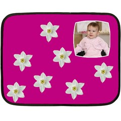 Libby By Miriam   Double Sided Fleece Blanket (mini)   Khcn1f038imc   Www Artscow Com 35 x27 Blanket Front