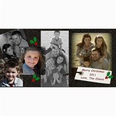Olsens Card By Hilary Troester   4  X 8  Photo Cards   Yid2yngo285z   Www Artscow Com 8 x4 Photo Card - 8