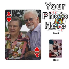 Ace Grandmar s 90th By Meghan   Playing Cards 54 Designs   Q9sp3o46cj27   Www Artscow Com Front - HeartA