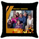 PILLOW - Throw Pillow Case (Black)