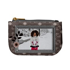 Winter By Angel   Mini Coin Purse   7mya2ob473ze   Www Artscow Com Front