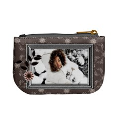 Winter By Angel   Mini Coin Purse   7mya2ob473ze   Www Artscow Com Back
