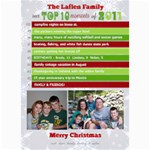 Top 10 Moments Christmas Card - 5  x 7  Photo Cards