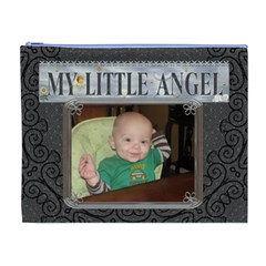 My Little Angel Xl Cosmetic Bag By Lil Front