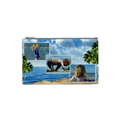 Holiday (small) Cosmetic Bag By Deborah   Cosmetic Bag (small)   K9aw34al7isw   Www Artscow Com Front